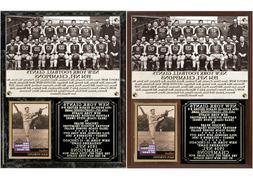 1934 New York Football Giants NFL Champions Photo Card Plaqu