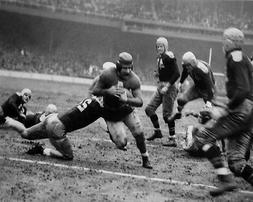 1938 New York Giants TUFFY LEEMANS vs Packers Glossy 8x10 Ph