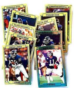 1989 N Y GIANTS Promo Set  Football Cards   NM/MT