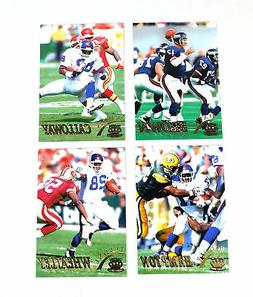 1996 Pacific Gridiron Football New York Giants Gold Parallel