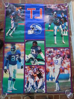 2 Huge LAWRENCE TAYLOR New York Giants POSTERS, Prints - Sta