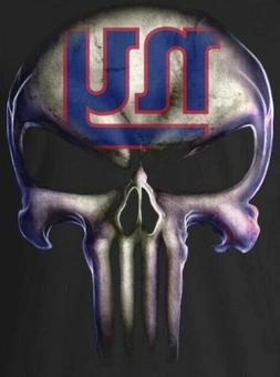 2 NY New York Giants Waterproof Vinyl Punisher Skull Sticker