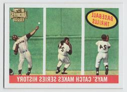 2001 Topps Archives - Willie Mays - #215 - New York Giants -