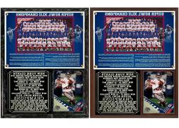2007 New York Football Giants Super Bowl XLII Champions Phot