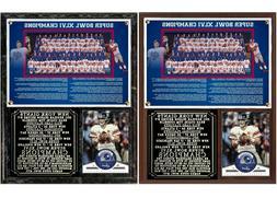 2011 New York Football Giants Super Bowl XLVI Champions Phot