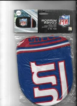 237s FAnmats NEW YORK GIANTS  Polyester Mirror covers sm. un
