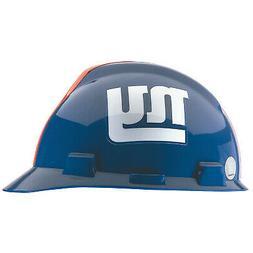 MSA 818403 NFL V-Gard Hard Hat, New York Giants, Blue/White