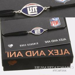 "Authentic Alex and Ani ""New York Giants"" Sterling Silver Kin"