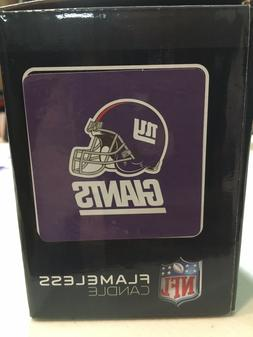 BRAND NEW NEW YORK GIANTS FLAMELESS CANDLE NORTHWEST FREE SH