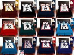 NFL Comforter Set Biggshots All Teams Twin, Full & Queen Bed