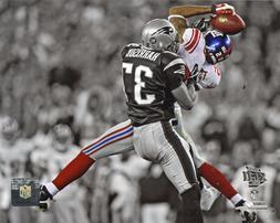 David Tyree New York Giants Super Bowl XLII Helmet Catch Spo