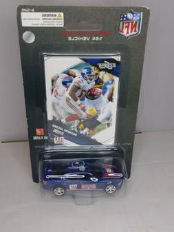 Diecast Car New York Giants NFL 09 Dodge Charger Brandon Jac