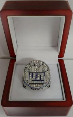 Eli Manning - 2011 New York Giants Super Bowl Custom Ring Wi