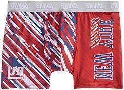 KLEW NFL New York Giants Wordmark Underwear, Large, Blue
