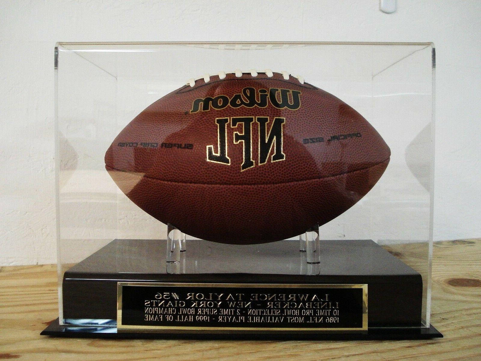 lawrence taylor football display case for your
