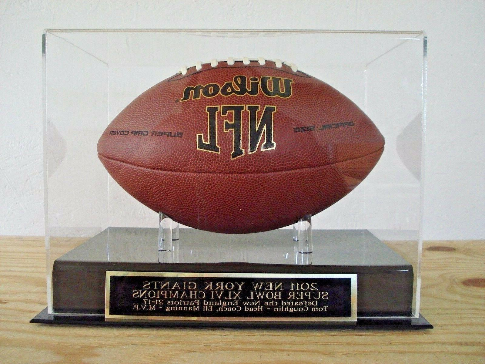 display case for your new york giants