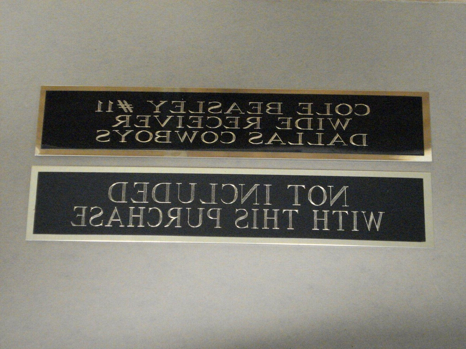 New Giants Super Champions Nameplate