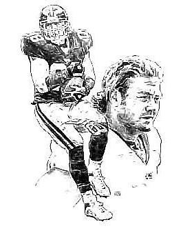 Jeremy Shockey New York Giants Lithograph By Michael Mellett