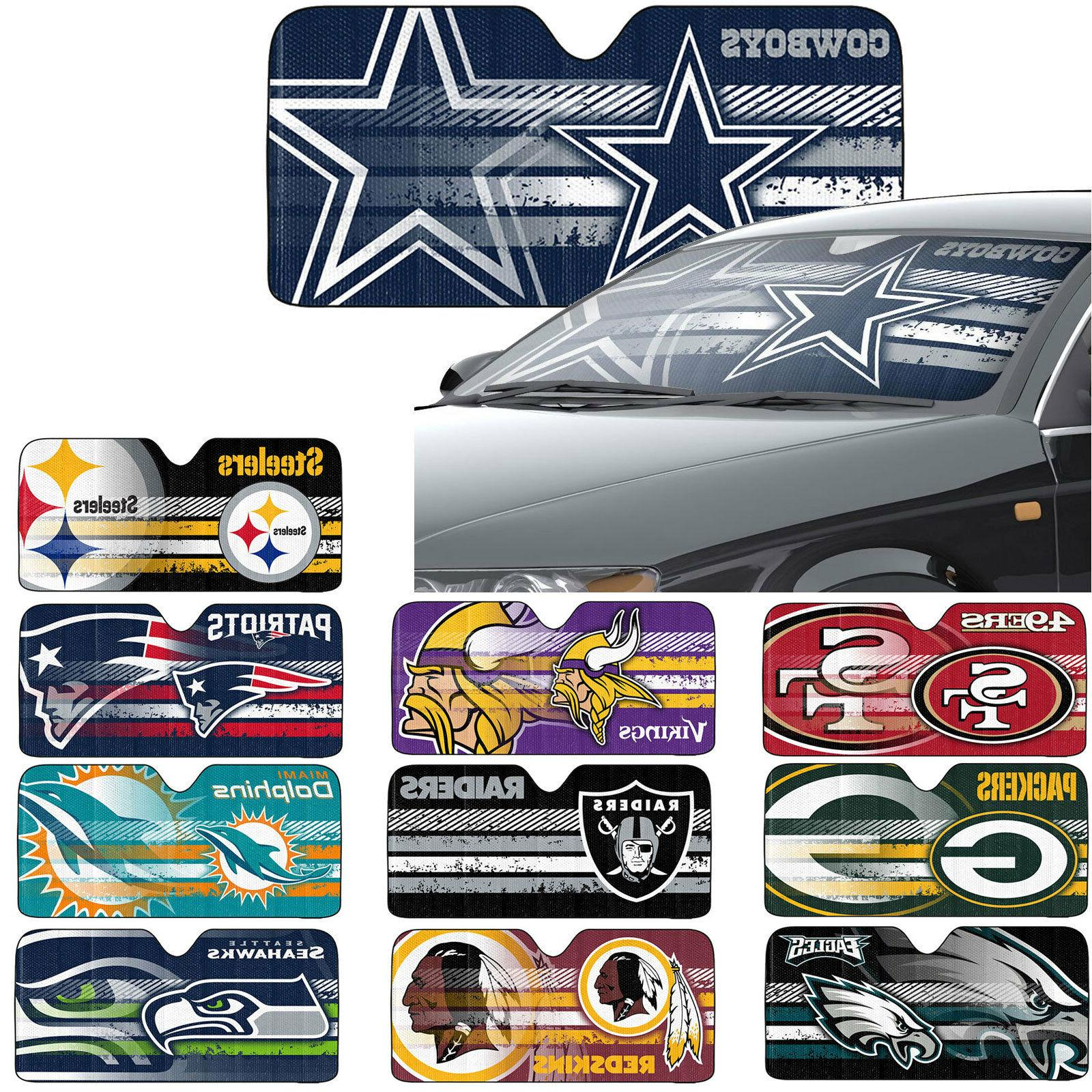 new nfl all team car truck windshield