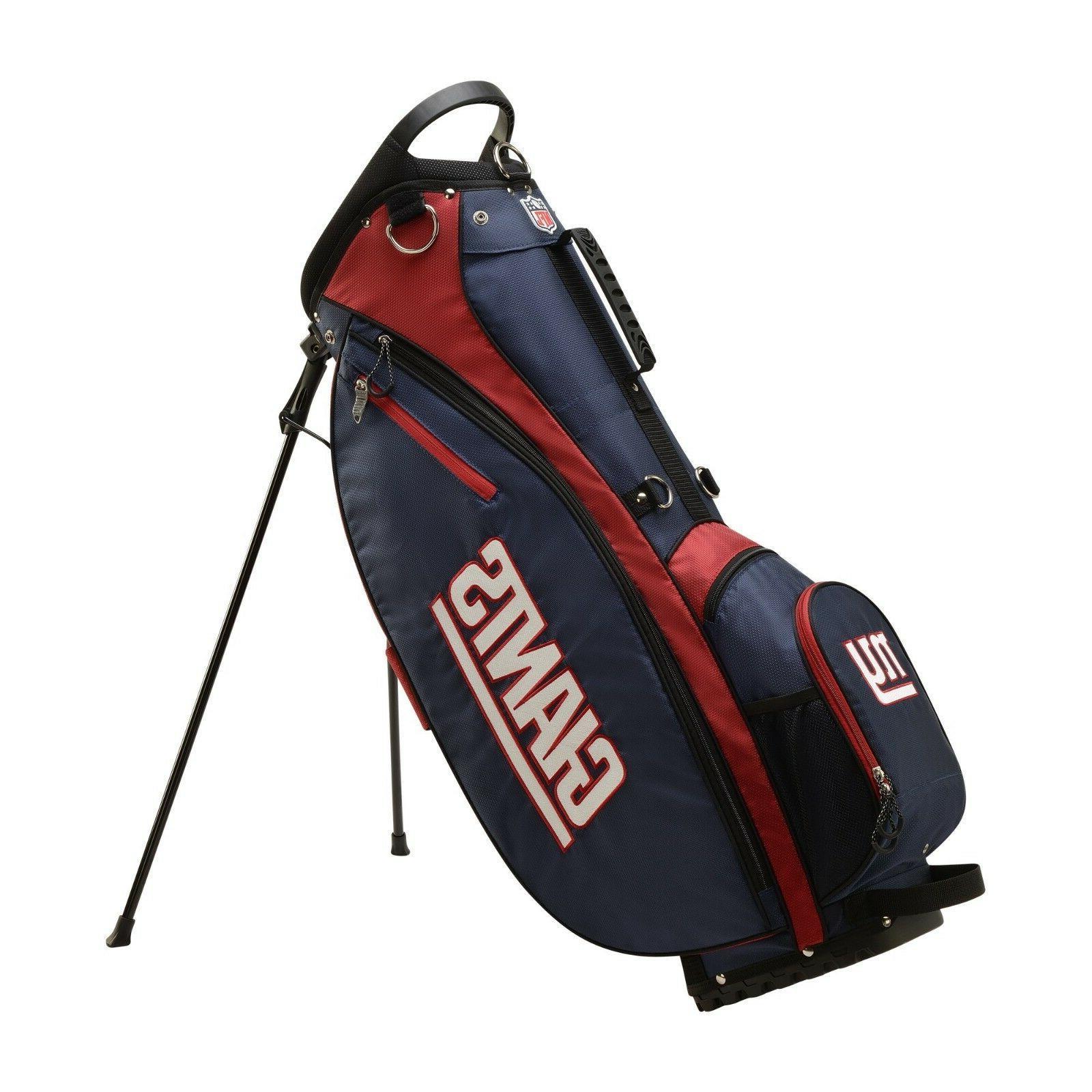 new nfl carry golf bag new york