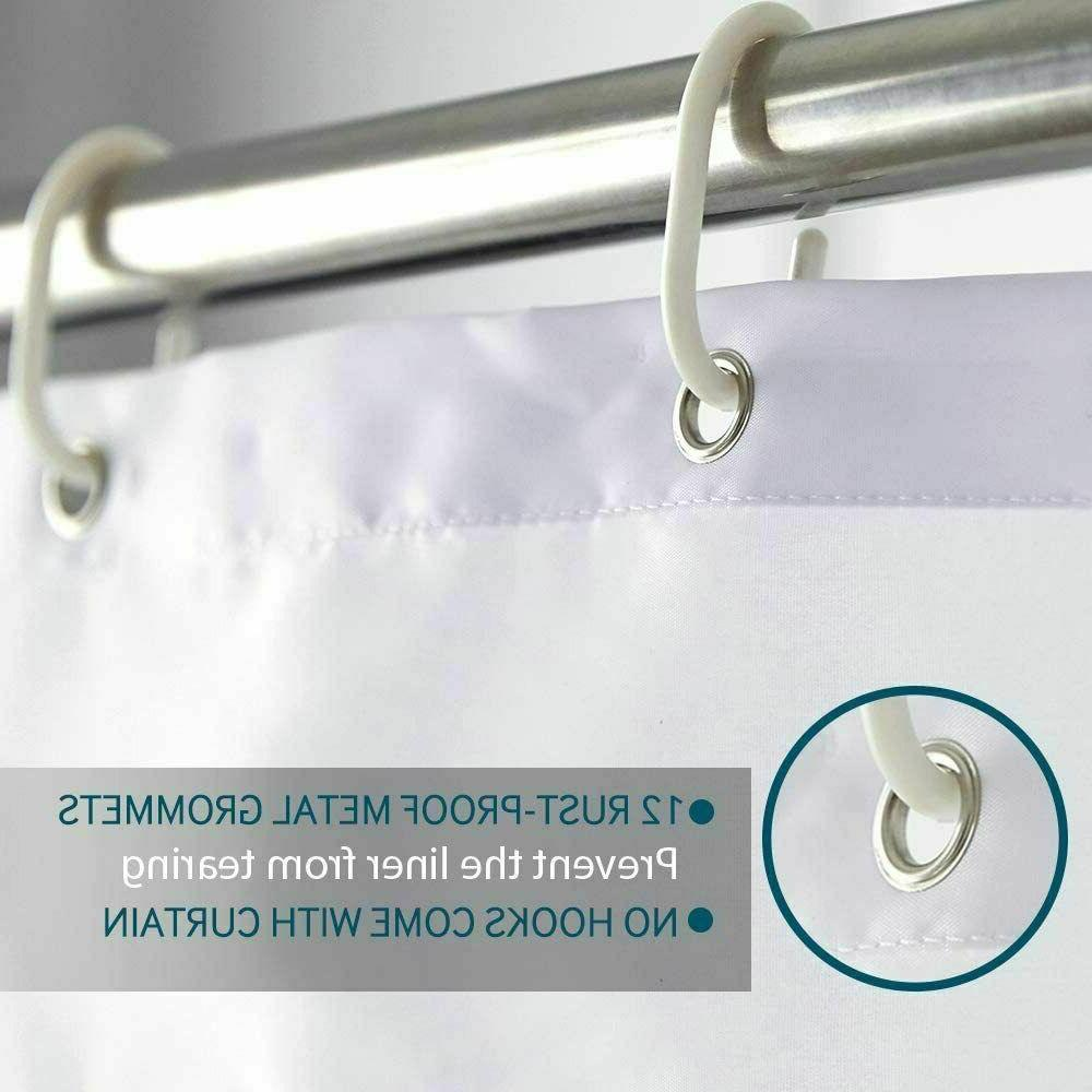 New Polyester Waterproof Shower Curtain