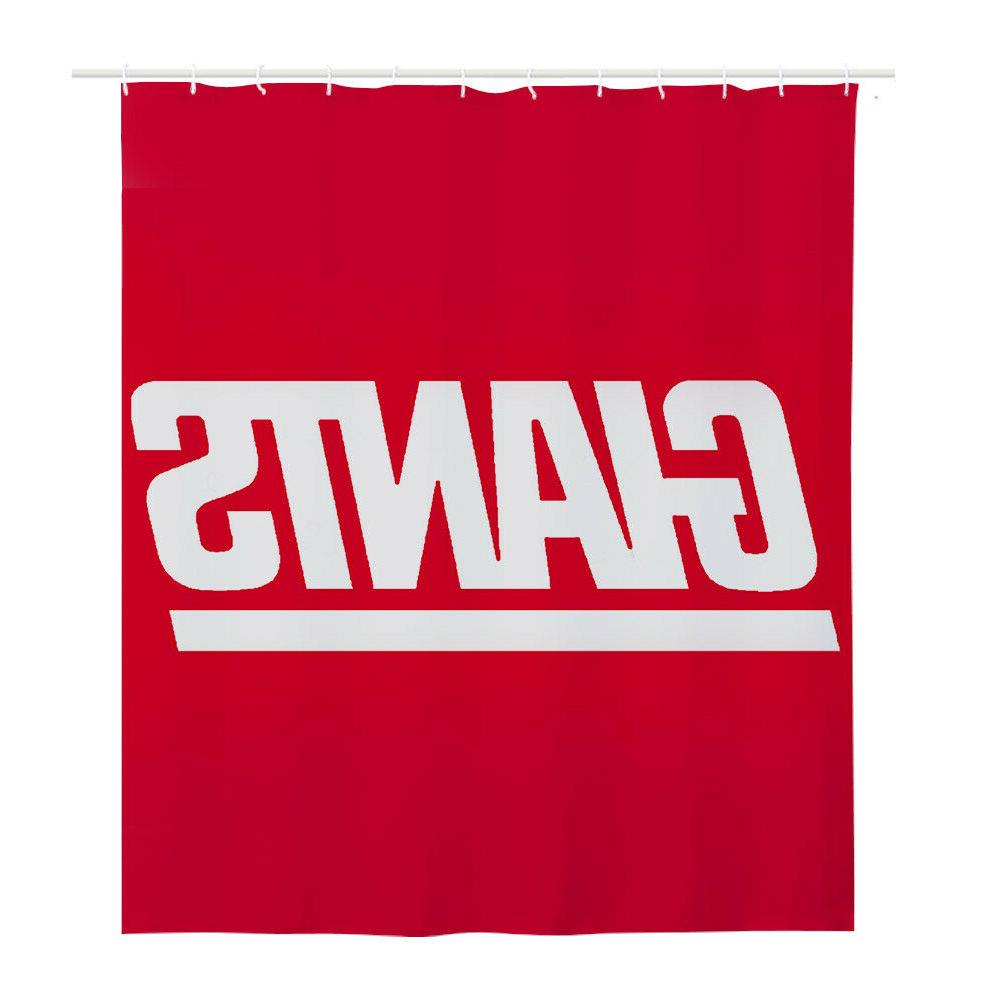 New York Giant Polyester Waterproof Curtain