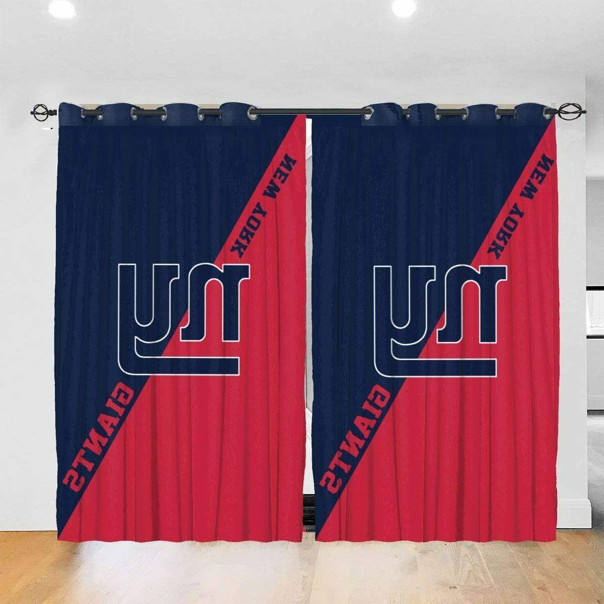 New York Giants Window Curtain