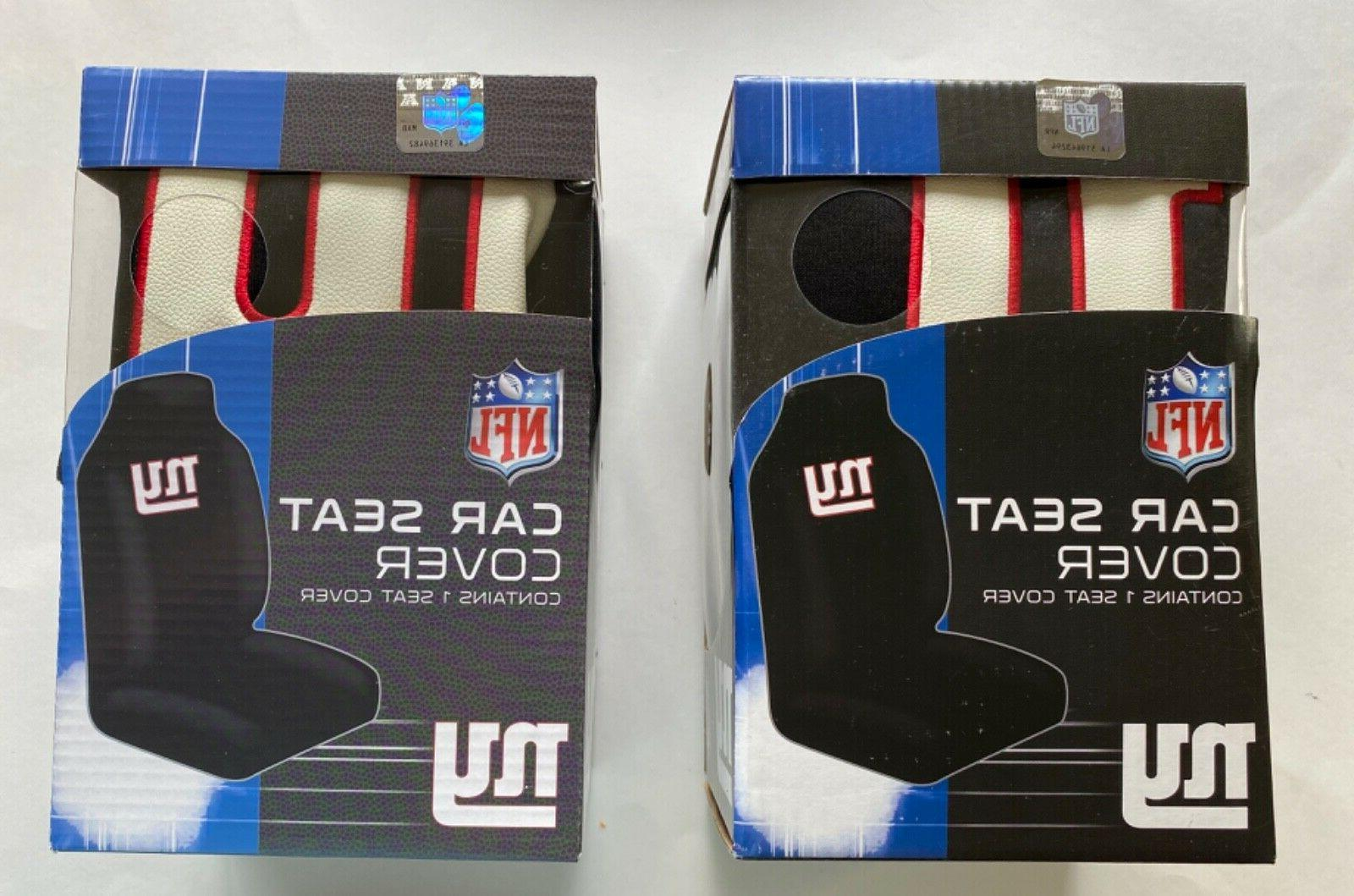 New York Giants  2 Front Universal Fit Car Truck  Bucket Sea