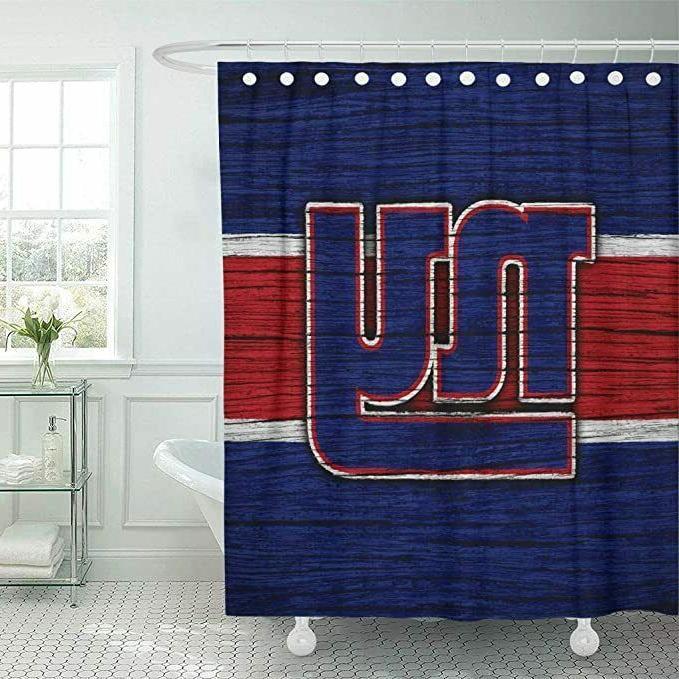 New York Design Fabric Waterproof Shower Bathroom