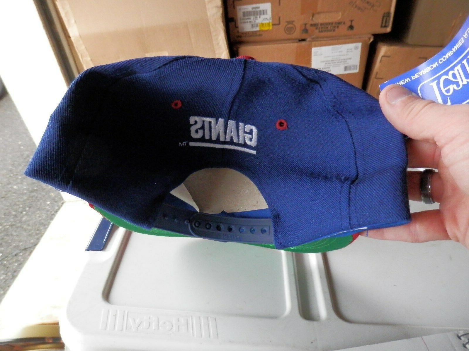 New York Giants cap NEW one all 90's vintage