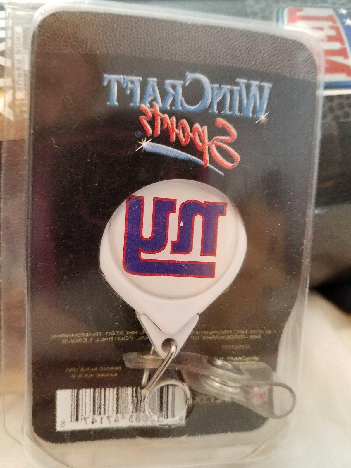 New Giants lot badge holder,