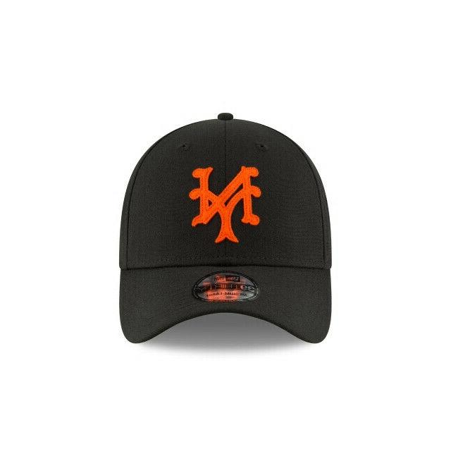 New MLB Authentic Cooperstown Hat-Black