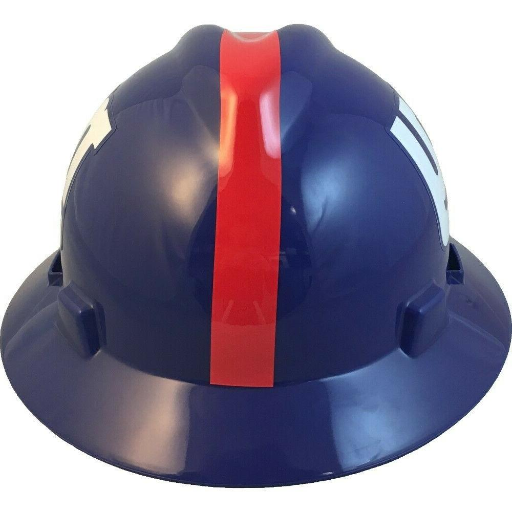 New NFL Full Hard Hat with Suspension