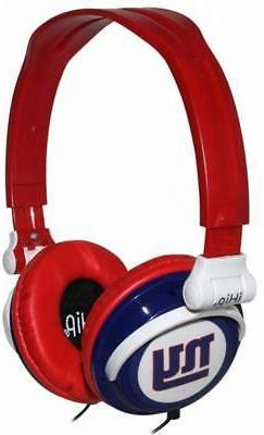 New York Giants NFL Ihip Extra Point Headphones Ipod Iphone