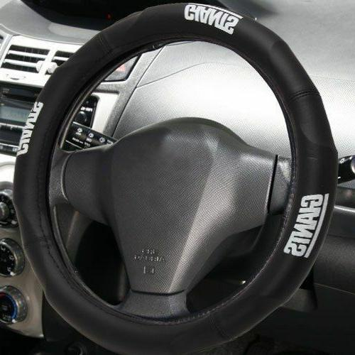 new york giants steering wheel cover synthetic