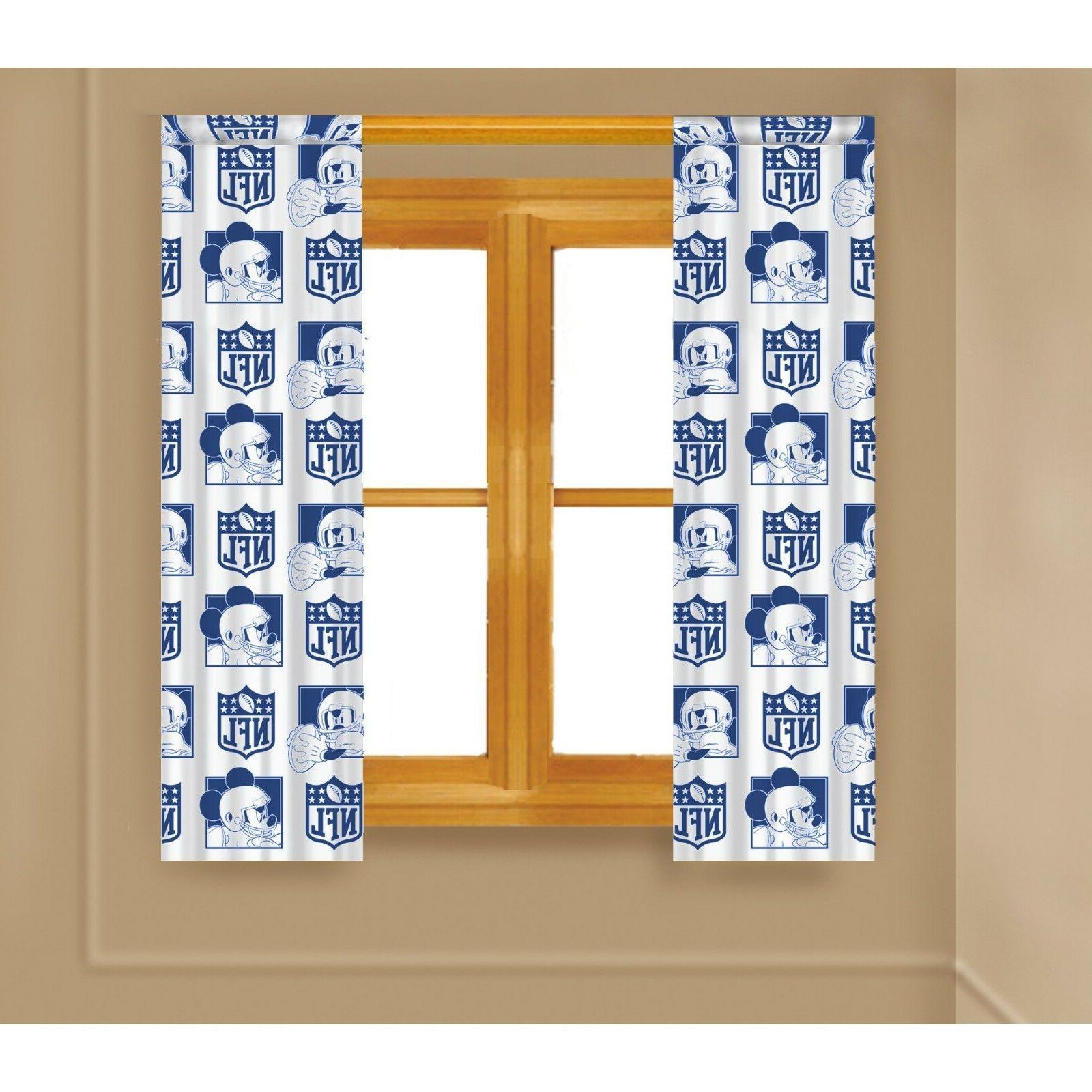 nfl dallas cowboys curtain panel