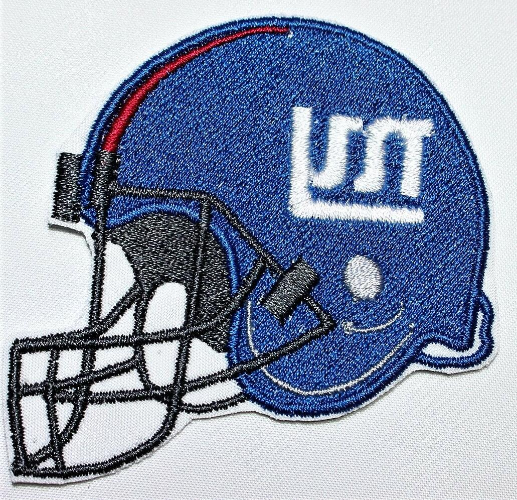 NFL New Giants Embroidered Iron-on FREE SHIP