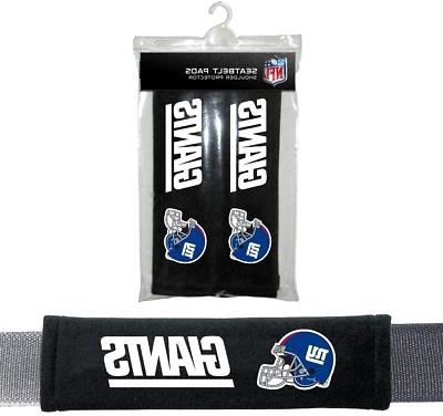 NFL New York Giants Pads Car Seat Belt Interior Auto Accesso