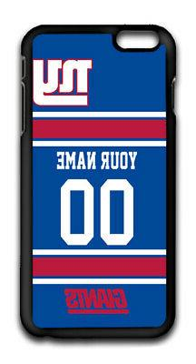 NFL New York Giants Personalized Name/Number iPhone iPod Cas