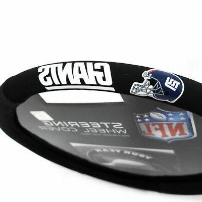 NFL York Poly-Suede Steering Wheel