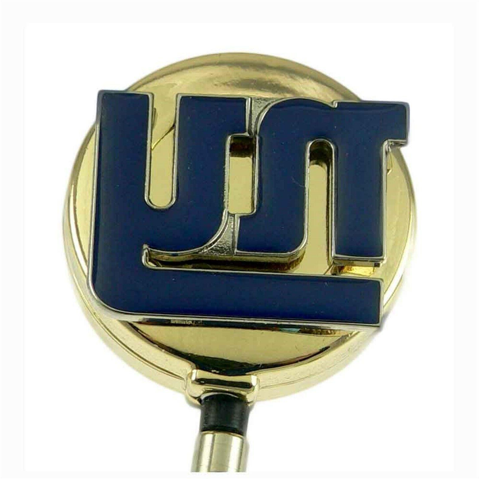 nfl ny new york giants retractable badge