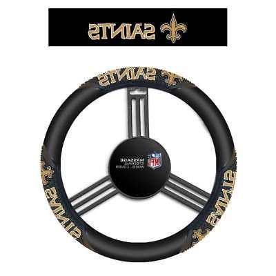 nfl team logo massage steering