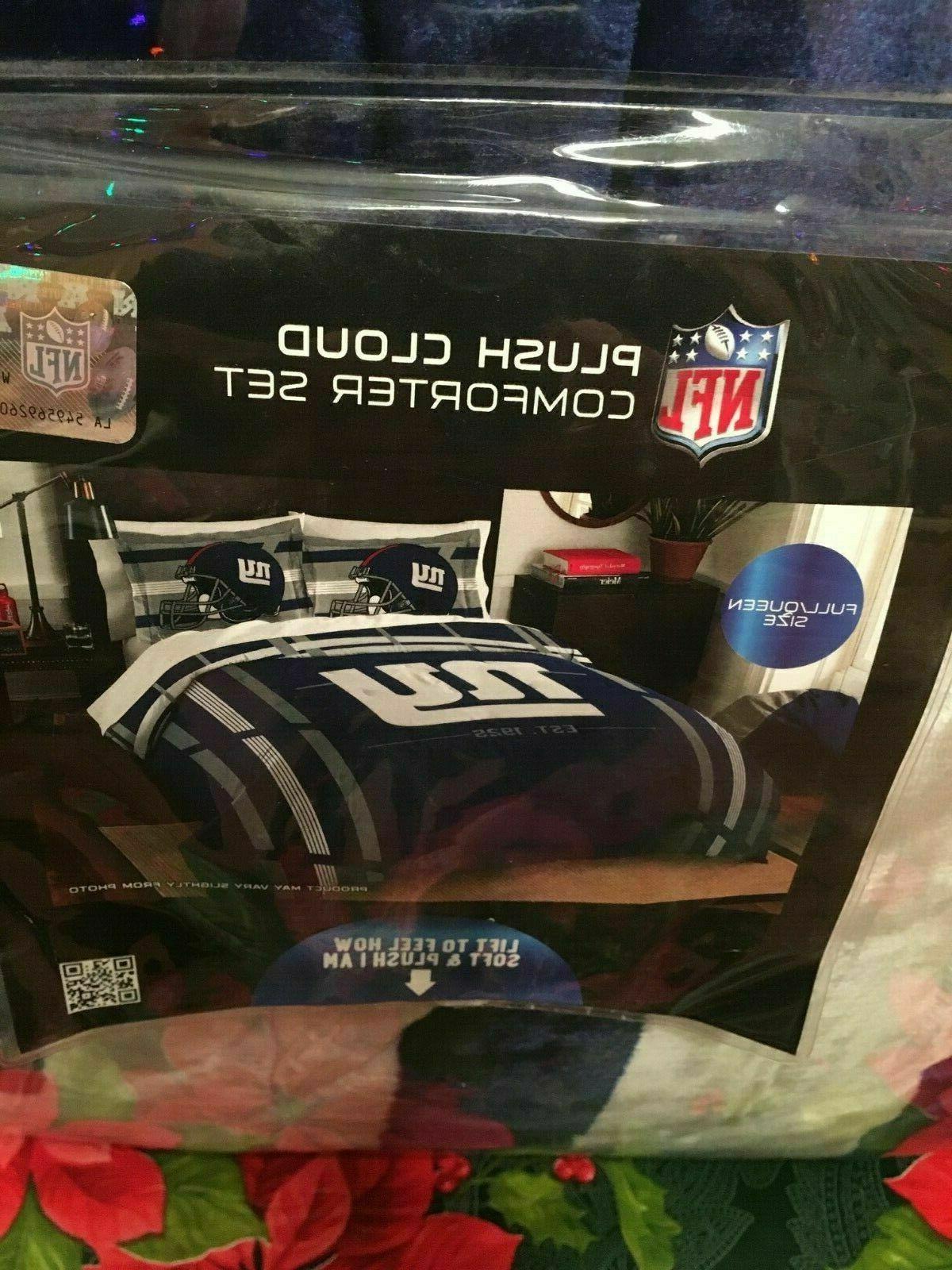 Plush Cloud York Giants Full/Queen Comforter