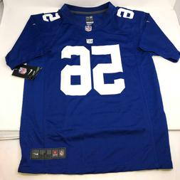 Nike Lawrence Taylor #56 New York Giants Jersey Blue Youth L