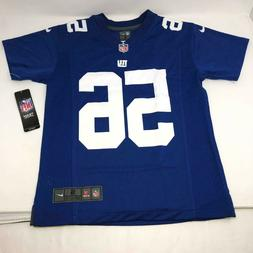 Nike Lawrence Taylor #56 New York Giants Jersey Blue Youth S