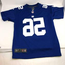 Nike Lawrence Taylor #56 New York Giants Jersey Blue Youth M