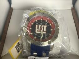 Invicta Men 50mm Automatic NFL OFFICIAL NEW YORK GIANTS  Sil