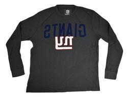NFL Team Apparel Mens New York Giants Thermal Long Sleeve Sh