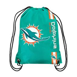 Miami Dolphins NFL Drawstring BackPack - SackPack ~ NEW!