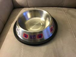 N.Y. giants pet bowl